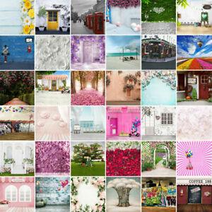 Flower Photography Background Studio Photo Backdrop Party Decor Prop 3x5ft 5x7ft