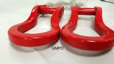 2019-2020 New Generation Silverado GM RED Tow Hook Package 84280202 OEM GM New