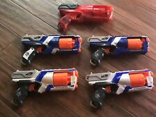 NERF Strongarm Blaster Lot 5 Guns PisTol Maverick Rare Fire Cosplay Birthday