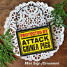 GUINEA PIGS * Themed Wood Ornament Decoration Mini Sign * Gag Gift * USA New