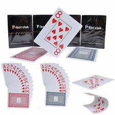 New Classic Plastic Waterproof Playing Cards Game Professional Poker