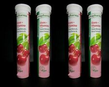 4 x Altapharma Iron + Vitamins cherry flavor (80pc) dissolvable tablets New