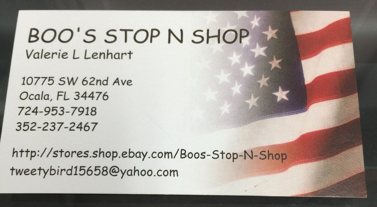 Boo's Stop N Shop