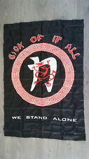 Sick of it all we stand 1995 rare heavymetal metal music flag vintage fahne
