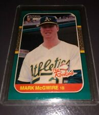 MARK McGWIRE 1987 Donruss The Rookies Rookie Card Oakland A's / St. Louis Cards