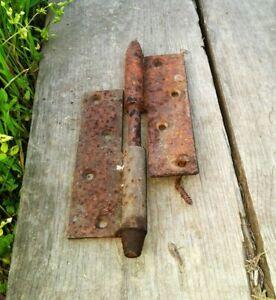Antique Door Hinge Rusty Metal Old Hardware Rustic Decor Vintage