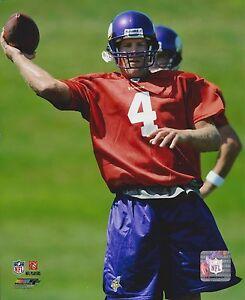 BRETT FAVRE 8X10 PHOTO MINNESOTA VIKINGS PICTURE NFL FOOTBALL