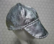 NEW VINTAGE 1990 Barbie Doll United Colors of Benetton Clothes-SILVer HAT CAP