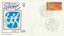 GERMANY 10 APRIL 1981 SPORTS FIRST DAY COVER BERLIN SHS (a)