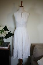 Lover the Label by Susien Chong: Ladies White Broderie Dress, Size 8