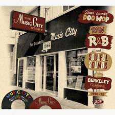 "THE MUSIC CITY STORY  ""STREET DOO WOP, RAW R&B & SOUL FROM BERKELEY CA 1950-75"""