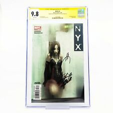 NYX #3 CGC 9.8 First appearance of X-23 Signed Stan Lee and Joe Quesada