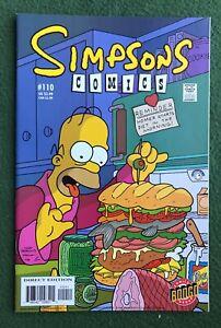 The Simpsons #110 Bongo Comics Modern Age TV Family Bart Homer Lisa vf/nm