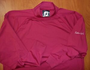 FootJoy ProDry Performance Thermal Baselayer Mock Ls Shirt M ~NEW~