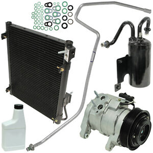 A/C Compressor & Condenser Kit Fits Dodge Ram 1500 2500 3500 OEM 10S17E 77398