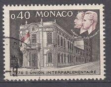 TIMBRE  MONACO OBL N° 828  CONGRES UNION PARLEMENTAIRE ALBERT 1° / RAINIER III