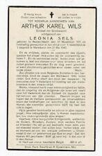 SOLDAAT A.WILS °BALEN-NETE (OLMEN) gesneuveld MERELBEKE 21 Mei 1940 (L.SELS)