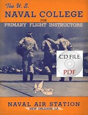 CD File Naval Air Station Primary Flight Instructors New Orleans WW2