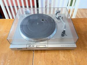 Vintage Sony PS-T15 Direct Drive Turntable w/ SHURE CARTRIDGE WORK JUST FINE