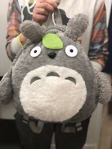 Totoro anime Kawaii My Neighbour  Plush Toy Causal Cuddly backpack Cute Gift