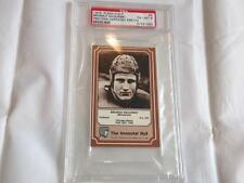 BRONKO NAGURSKI BEARS 1975 FLEER IMMORTAL SIGNED PSA/DNA SLABBED FOOTBALL CARD