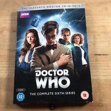 Doctor Who - Series 6 Rare Deleted Sci Fi Tv Action Adventure Matt Smith BBC DVD