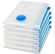 4PCS Vacume Vacuum Storage Bags 60x80cm Space Saver Saving Storage Organizer Bag