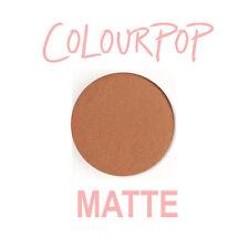 ColourPop Pressed Powder Eye Shadow Pan - SIDE TRACKED - Terracotta, gold flecks