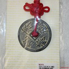 Feng Shui TORTOISE & CRANE COIN AMULET Longevity*Good Health*Long Life