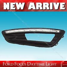 LED DRL Daytime Running Lights Lamps For Ford FOCUS 2015-2017 Hatchback Sedan