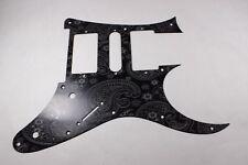 Black Paisley Anodized Aluminum pickguard fits Ibanez (tm) RG550 Jem RG  HSH