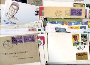 USA Covers, Cards etc with Baseball Sport interest. Unchecked