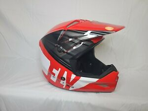 Fly Racing Kinetic Cold Weather Helmet (2X-Large, Red/Black/White)