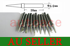 11 PCS SOLDER SOLDERING IRON STATION Tips for Dick Smith DSE T2000 T2260 T2200