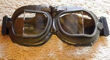 R.A.F. Bomber Crew WW2 Type MK. 8 Black Goggles Royal