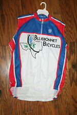 Women's Sleeveless Cycling Jersey Canari Texas Bluebonnets NWT Size S
