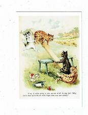 POST CARD ART CARD BY LOUIS WAIN A MODERN REPRO BY TAS COLLECTABLES