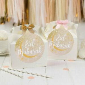 EID MUBARAK GIFT BOX | Celebration Party Gift Bag Favour Boxes with Bow