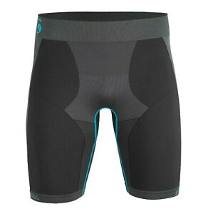Mens Underwear Short, Seamless Base Layer Functional Use Breathable Quick Dry