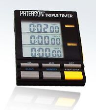 Paterson Development and Darkroom Triple Timer PTP800