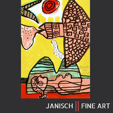 CORNEILLE - Farblithographie, handsigniert, Auflage 75, 1964!