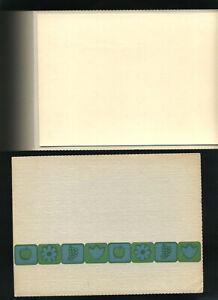 2 Vintage NEW Cardboard PHOTO Holders 5x7 Made in USA Folder