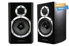 Wharfedale Diamond 10.1 Bookshelf Speakers Pair-Black Wood
