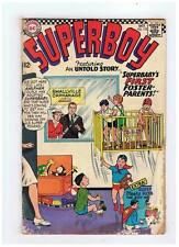 Dc Comics Superboy #133 VG- 1966