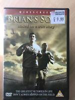 Sean Maher Mekhi Phifer de BRIAN Canciones 2001 Americano Fútbol Drama Versión