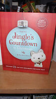 2011 HALLMARK BOOK ~ JINGLE'S COUNTDOWN TO CHRISTMAS & 24 POP OUT ORNAMENTS NWT