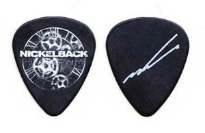 Nickelback Mike Kroeger Signature Black Guitar Pick 2012 Tour