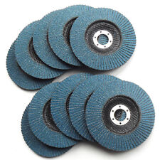 "20PC 125mm 5"" ZIRCONIA  Grit 60 # FLAP DISC WHEEL, Angle Grinder Metal Sanding"