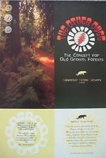 The Other Ones Grateful Dead Warfield Poster Rainforest