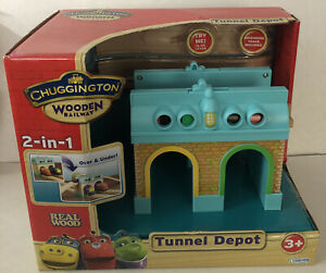 2011 Learning Curve Chuggington Wooden Railway 2-in-1 Tunnel Depot Brand NEW
